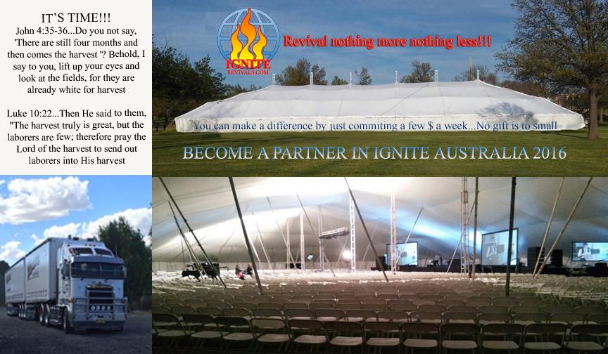 Ignite Tent AU & Ignite Tent AU | ignite